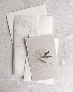 A gorgeous elegant wedding invitation suite by Paula Lee calligraphy ❤