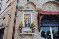 Street shrine in Rome