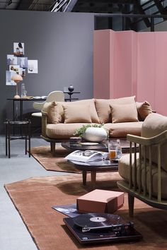 Yesterday Oslo Design Fair opened, and this years theme is Everyday Rituals. Oslo, Wall Colors, Couch, Traditional, Interior, Instagram Posts, Table, Inspiration, Furniture