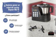 ¡Robot de cocina BAYSER MIX gratis para un@ de vosotr@s!
