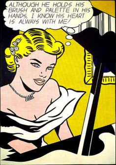 ROY LICHTENSTEIN http://www.widewalls.ch/artist/roy-lichtenstein/ #pop #art