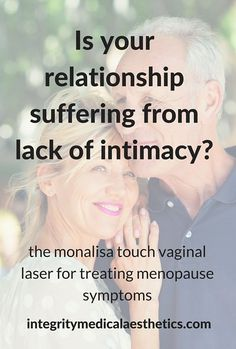 The MonaLisa Touch, a remedy for treating symptoms of menopause include painful intercourse and vaginal dryness. Improve your sex life and relationship without hormone replacement therapy. Find out more about the MonaLisa Touch.