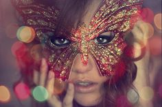 Red Butterfly mask