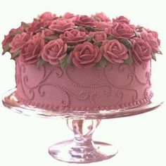 [Food and drink]Mothers Day cake roses Gorgeous Cakes, Pretty Cakes, Amazing Cakes, Wilton Cakes, Fancy Cakes, Mini Cakes, Cupcake Cakes, Baking Cupcakes, Sprinkles