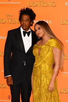 Beyonce & Jay-Z Look So In Love Together at 'Lion King' European Premiere!: Photo Can you feel the love tonight between Beyonce and Jay-Z? The Lemonade icon and the rapper paired up together at the European premiere…