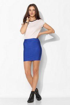 Sparkle & Fade Bodycon Bandage Mini Skirt #urbanoutfitters