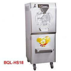 BQL-HS18 110V/220V Stainless Steel Commercial Gelato Maker Brand New Italian Ice Cream Machine High Quality 28-35L/H 2200W