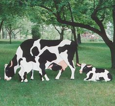 Standing Life Size Cow Wood Plan This Fun Project Looks