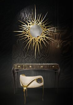 @koket Projects with Guilt Mirror, Temptation Console & Chandra Chair #design #interiordesign #interiors http://www.bykoket.com/projects.php