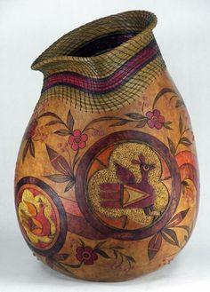 Gourd art by Judy Richie