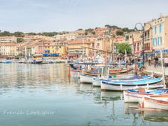 Beautiful Cassis, France  (viaFrench Larkspur) Villefranche Sur Mer, Sky Mountain, Oui Oui, French Riviera, Places Around The World, Vacation Destinations, Beautiful Images, Paris France, Travel Photos