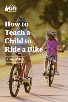 Learning to ride a bike is a rite of passage for many young adventurers. Here are some ways to teach a kid how to ride a bike. Rite Of Passage, Teaching Kids, Parents, Bicycle, Journal, Adventure, Learning, Children, Fun