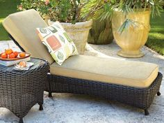Chaise Lounge - Easy to personalize to your own style