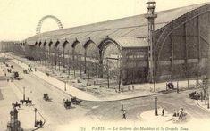 The Galerie des Machines in Paris, built for the 1889 World's Fair Paris Pictures, Paris Photos, Le Palais, Expositions, Vintage Paris, Architecture Old, World's Fair, Civil Engineering, Historical Pictures