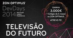 ZON OPTIMUS procura talentos para revolucionar a Televisão! | Algarlife