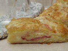 Strudel+di+Patate+Mozzarella+e+Mascarpone+con+pasta+sfoglia