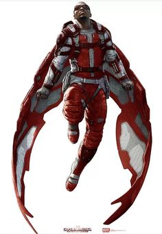 Falcon Will Look Like in Captain America 3: Civil War Concept Art! | moviepilot.com