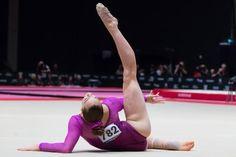 Maggie Nichols Maggie Nichols, Chalk Talk, Sport Gymnastics, Female Gymnast, Floor Workouts, World Championship, Ice Skating, Leotards, Finals