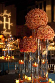 Real Tennessee Wedding: Jennifer + Armand, Part II - Southern Weddings Magazine Reception Decorations, Event Decor, Wedding Centerpieces, Wedding Table, Fall Wedding, Our Wedding, Dream Wedding, Wedding Ideas, Wedding Stuff