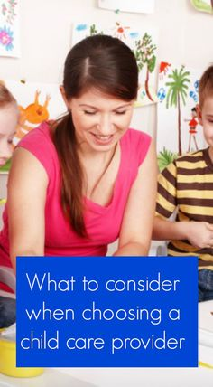 Daycares, Questions to ask and Backgrounds on Pinterest