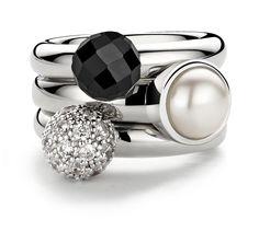 Ti Sento milano stackable rings