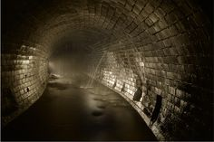 Sewer tunnel
