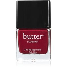 Butter London Nail Lacquer - Blowing Raspberries ($15) ❤ liked on Polyvore featuring beauty products, nail care, nail polish, nails, makeup, beauty, accessories, butter london, butter london nail polish and butter london nail lacquer
