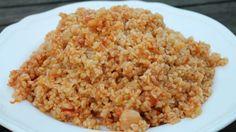 Török rizs bulgurból