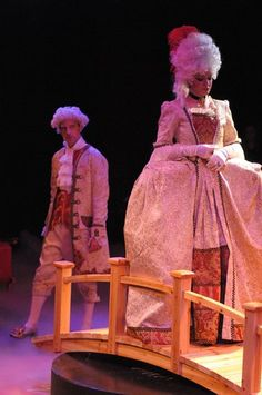Scene from Plaza Theater Company's The Scarlet Pimpernel / photo by  Ginny Rodgers - winner of 2011 Column Award Best Costume Design
