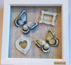 Wall Decor Art Butterfly Wall Decor 3D by DesignsByDenisa on Etsy