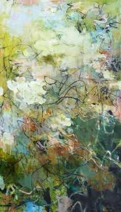 "Krista Harris SOLD • A SENSE OF PLACE 60""h x 34""w"