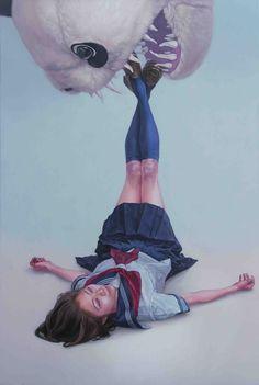 1GB 2014 acrylic,oil on canvas Kazuhiro Hori