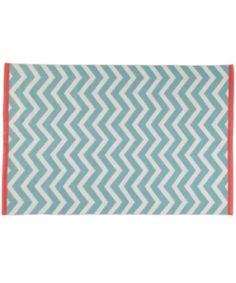 tapis maisons du monde zigzag motif géométrique déco chambre enfant babayaga magazine