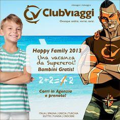 Una Vacanza con tutta la famiglia!  2+2=2!