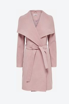 Lang drapierter Trenchcoat pink von Jacqueline de Yong auf LadenZeile.de ➜ Jetzt entdecken: www.ladenzeile.de/detail/559555287