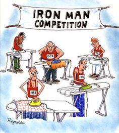 Men s Ironic Humor  Iron Man Cartoon Jokes 03ad14af557d