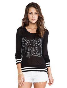 LAUREN MOSHI Barb Beverly Hills Sweater