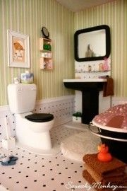 bathroom for doll house