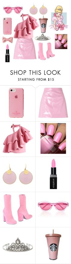 """""""Charlotte from Princess and the Frog"""" by fashionlover423 on Polyvore featuring Kate Spade, Miss Selfridge, Chicwish, Smashbox, ELENA IACHI, Quay, 1928 and Puma"""