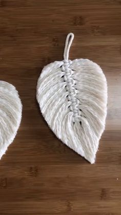 Diy feather leaf by using ropes diy diyjewelryeasy diyjewelryholder diyjewelrymaking feather leaf ropes using 26 handmade gift ideas for him diy gifts he will love for valentines anniversaries birthday or any special occasion involvery Diy Crafts Hacks, Rope Crafts, Diy Home Crafts, Diy Arts And Crafts, Yarn Crafts, Sewing Crafts, Crafts For Kids, Diy Projects, Creative Crafts