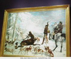 L'Hallali du cerf Gustave Courbet -Musee d'orsay - marimerveille