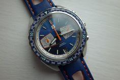 Straton Syncro chronograph w/ Seiko NE88 chrono movement