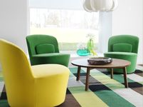 Living Room Furniture - Sofas, Coffee Tables & Inspiration - IKEA Nice mod rounded chairs
