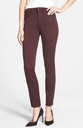 NYDJ 'Alina' Colored Stretch Skinny Jeans (Regular & Petite) available at Nordstrom.