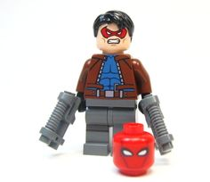 Lego Custom Lego Red Hood Batman 3 Dark Knight Robin | eBay