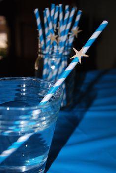 Starfish Straw for Beach themed shower