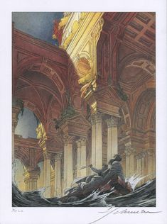 La Tour by Schreiber ind Leser. Signed by François Schuiten. Numbered 1-99. And 1-15 HC.