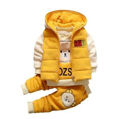 bcc904dc0cc Children s Christmas Set Warm WaistCoat+Sweatshirt+Pants. Twin BabiesBaby  ...