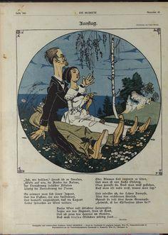 "Franz Wacik ; ""Die muskete"", 9 août 1906."