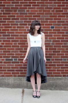 Cascade Skirt #kollabora #sewing #diy
